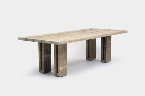 Tables by ARTLESS seen at Private Residence, Los Angeles - Occidental Accoya Table