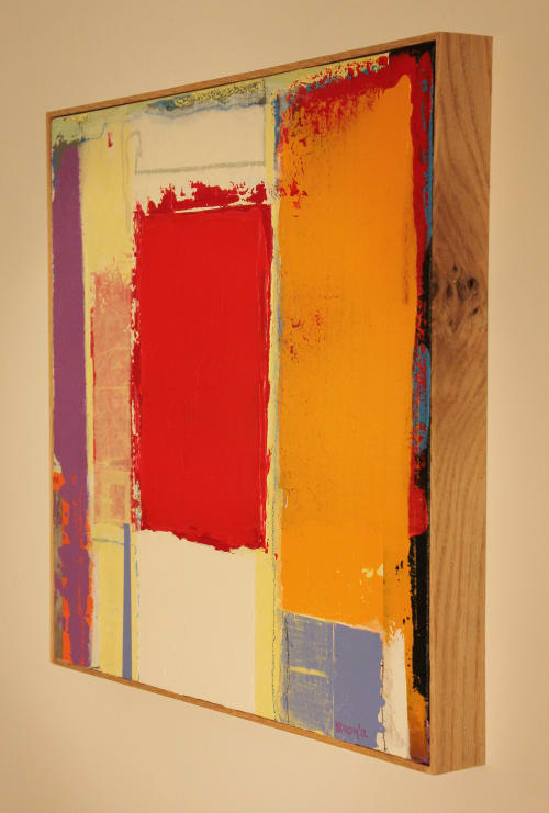 Paintings by Joey Korom seen at Private Residence, Chicago, Chicago - Floating Red