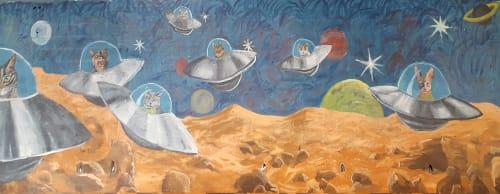 Virginia Warwick - Murals and Art