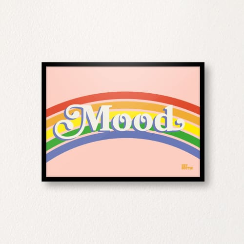 Art & Wall Decor by Hey Dottie seen at Private Residence, London - Mood Print