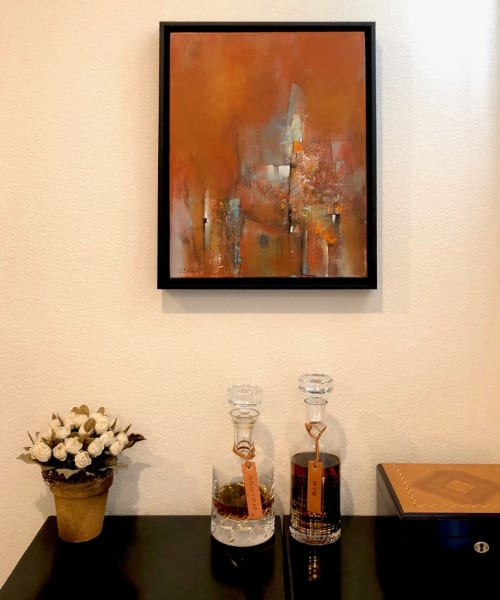 Paintings by Laurie DeVault Fine Art seen at Private Residence, Mountain View - Time Passages