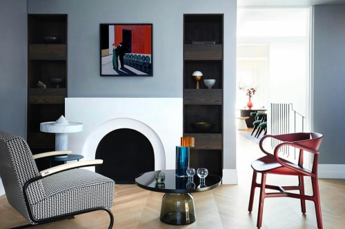 Paintings by Maria Kostareva seen at Private Residence, Mosman - The Coat