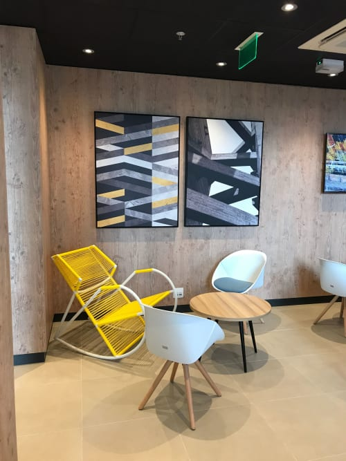 Chairs by Tiago Curioni Studio seen at Hotel ibis Sao Paulo Tatuape, Tatuapé - Noemia