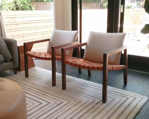 Chairs by Christopher Solar Design seen at Private Residence, Toronto - Alpha Lounge