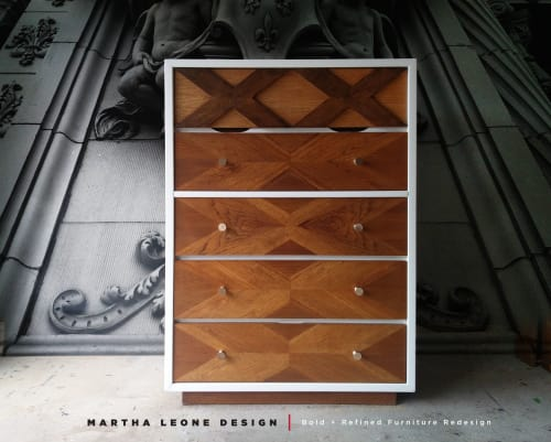 Furniture by Martha Leone Design seen at Private Residence, Philadelphia - Mid Century Tallboy