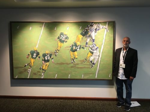 Paintings by An Artist Life seen at 1265 Lombardi Ave, Green Bay - Green Bay Packers Painting for Lambeau Field stadium, Green Bay Wisconsin