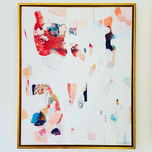 Paintings by Cat Huss seen at Private Residence, Dallas - Choices