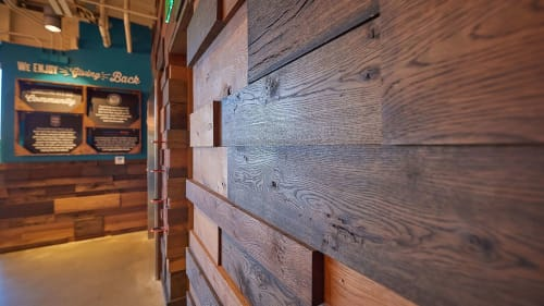 Custom Architectural Woodwork | Furniture by HEWN | Whole Foods Market in Austin
