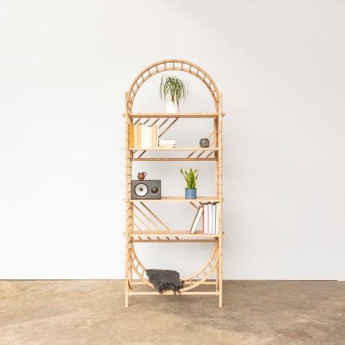 Furniture by John Eadon seen at Private Residence - TRELLIS Shelving System