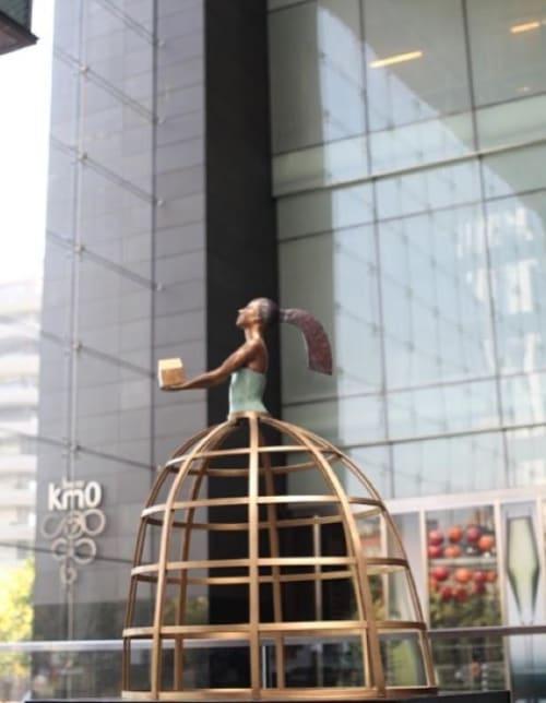 Sculptures by Ignacio Gana seen at W Miami, Miami - Cinderella