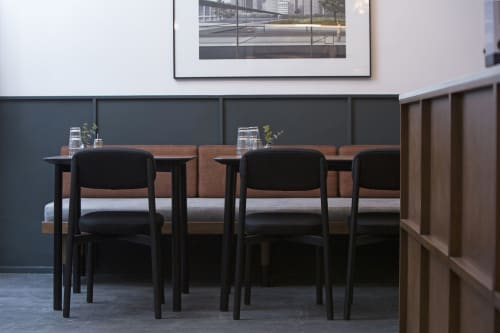 Chairs by Jean Couvreur seen at Paris, Paris - RESIDENCE