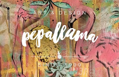 pepallama - Murals and Art