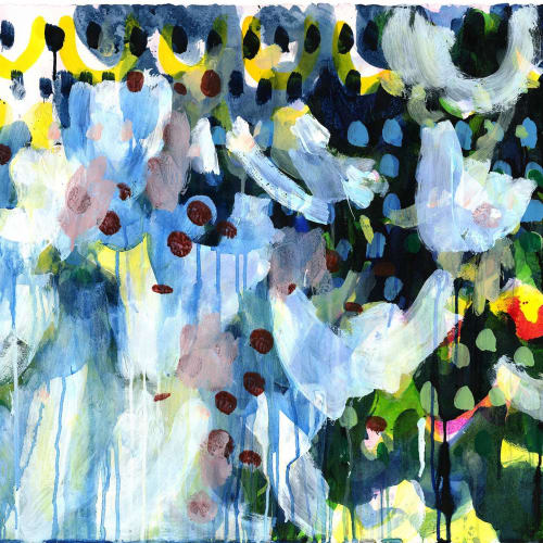 Paintings by Caroline Wright seen at Private Residence, Atlanta - What the Living Do