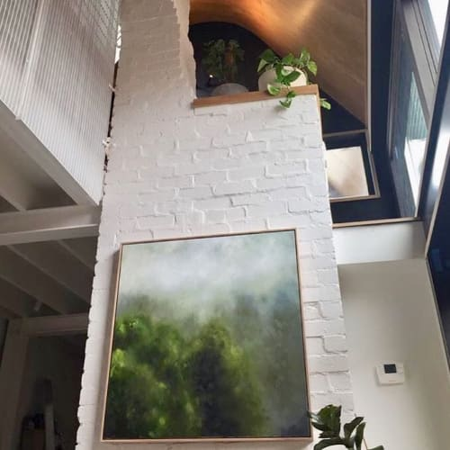 Paintings by Prueclay seen at Private Residence, Melbourne - Oil Painting