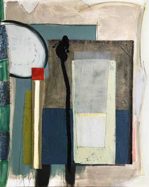 Paintings by Debra Yates seen at Debra Yates | The Art of Space, Lake Worth - Coastal Folly Series #1