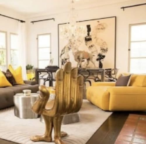 Paintings by Miles Regis seen at Private Residence, Beverly Hills - Turned Around