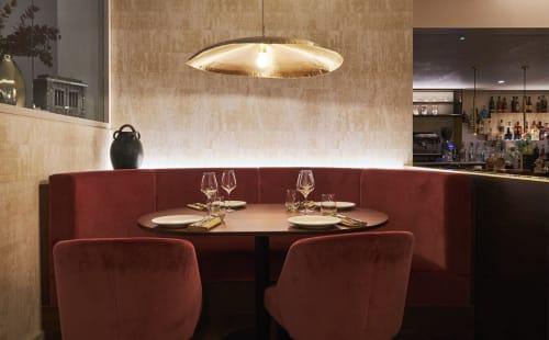 Interior Design by Kai Interiors seen at Kahani, London - Kahani