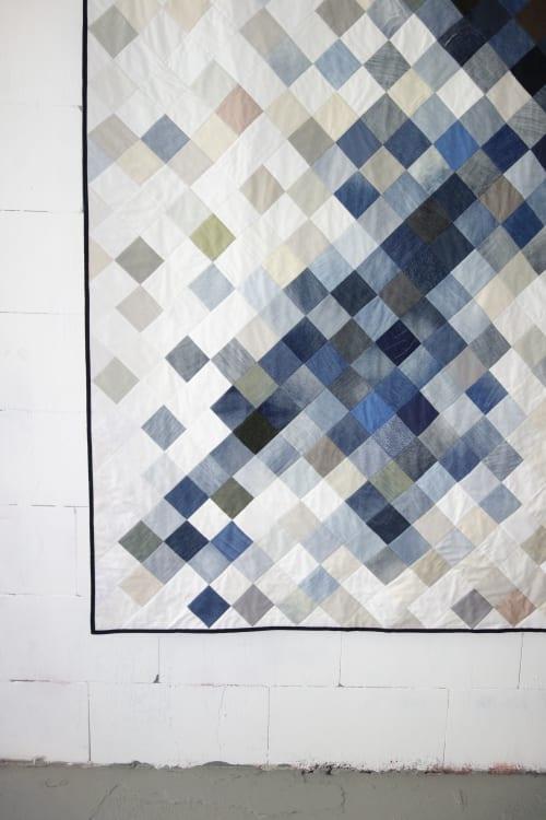 Dark To Light Quilt   Wall Hangings by DaWitt