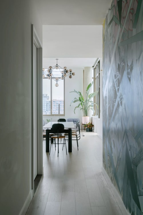 Interior Design by Ana Claudia Design seen at Private Residence, Lower East Side, Manhattan, New York - Orchard St. Penthouse