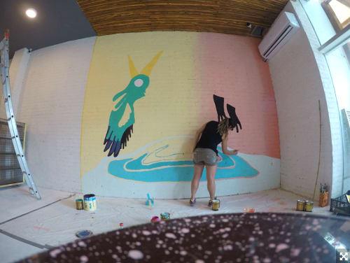 Ojo de Agua Cancún | Murals by Marisol D'Estrabeau | Ojo de Agua in Cancún