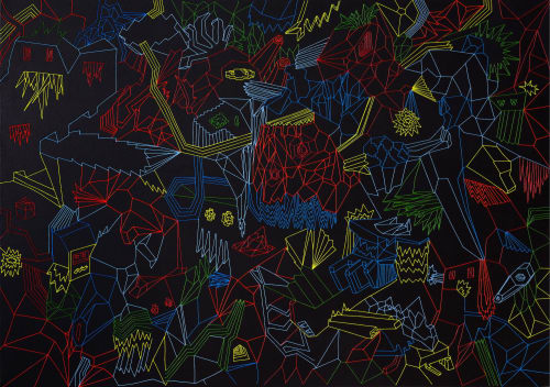 Petr Barinka - Macrame Wall Hanging and Art