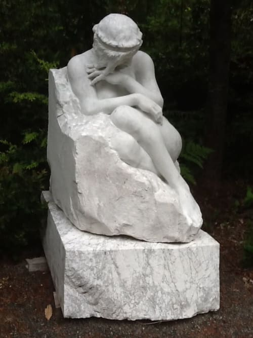 Sculptures by John Fisher Sculptures seen at Fisher-Oppenheimer Studios, Fort Bragg - Solitude