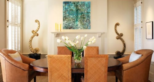 Paintings by Barfoot Fine Art seen at Private Residence, Sauble Beach - Along the Nightly Shore