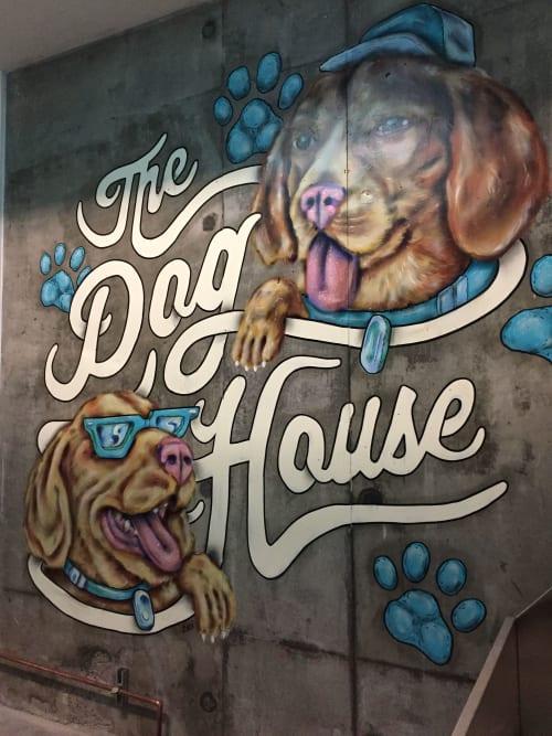 Murals by Maxfield Bala Creative seen at Private Residence, San Francisco - Maxfield Bala