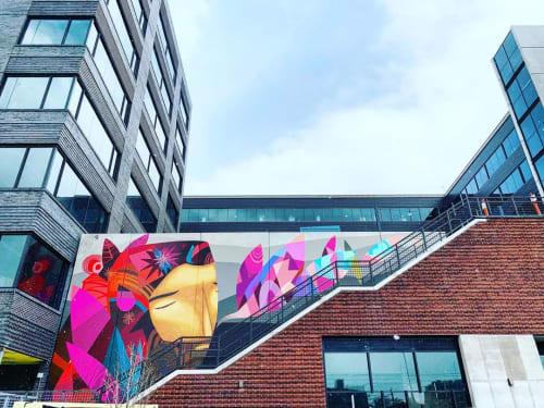 Street Murals by Jaime Molina seen at River North Art District, Denver - Mural