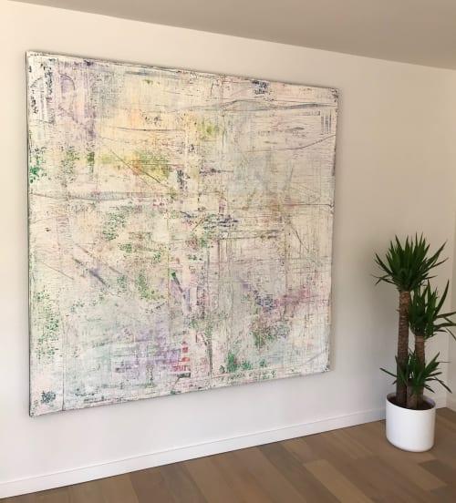 Paintings by Philippe Van Gele seen at Private Residence, Destelbergen - Subway