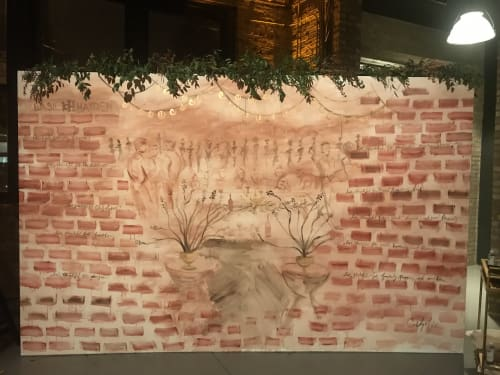Murals by Clementine Studio seen at Chicago, Chicago - Basil Hayden Live Mural