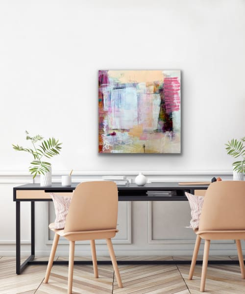Paintings by Pamela K Beer Contemporary Fine Art seen at Creator's Studio, Sammamish - Capstones