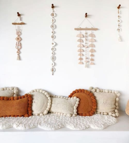 Wall Hangings by West Perro seen at The Mindry, Malibu - West Perro collection