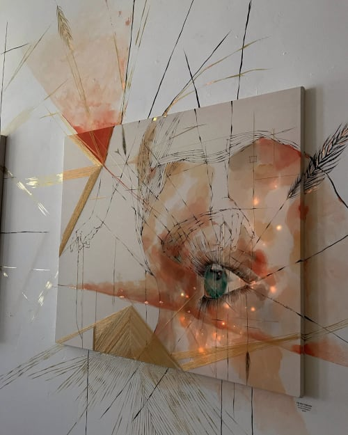 Paintings by onerary :: Danielle DeRoberts seen at Telluride Arts, Telluride - The Way Through... The Magnetic Self Series