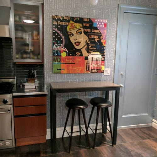 Paintings by Mark Andrew Allen seen at Private Residence, New York - Wonder Woman