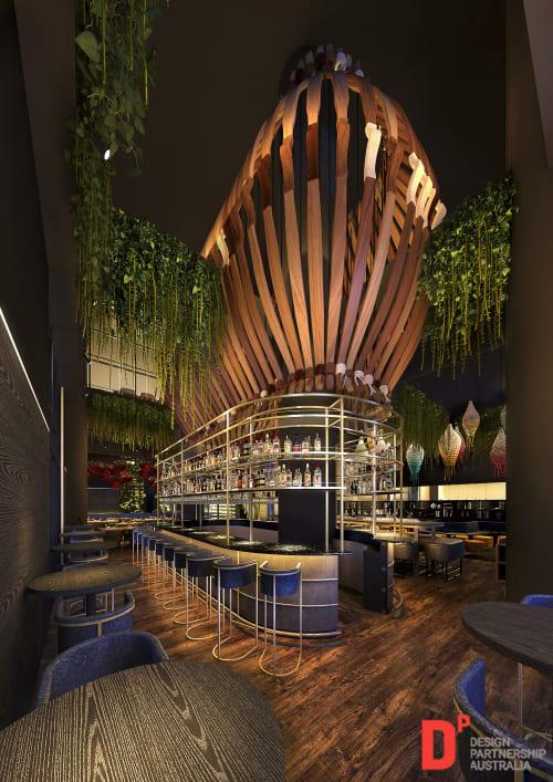 Art Curation by Design Partnership Australia seen at The Hills - Emaar, Dubai - Art Curation
