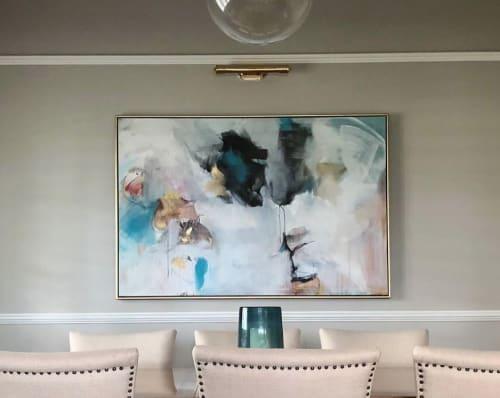 Paintings by Lisa Taylor King seen at Private Residence - Panda Eyes