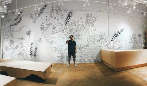 Murals by Lance Flores Studios seen at 3205 Knox St, Dallas - BLDWN (Dallas)