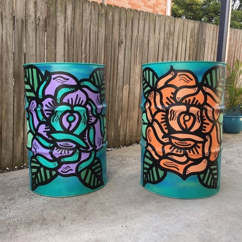 Tables by Storm Soul Artworks seen at Private Residence, Cronulla - Aus Music Week Cronulla