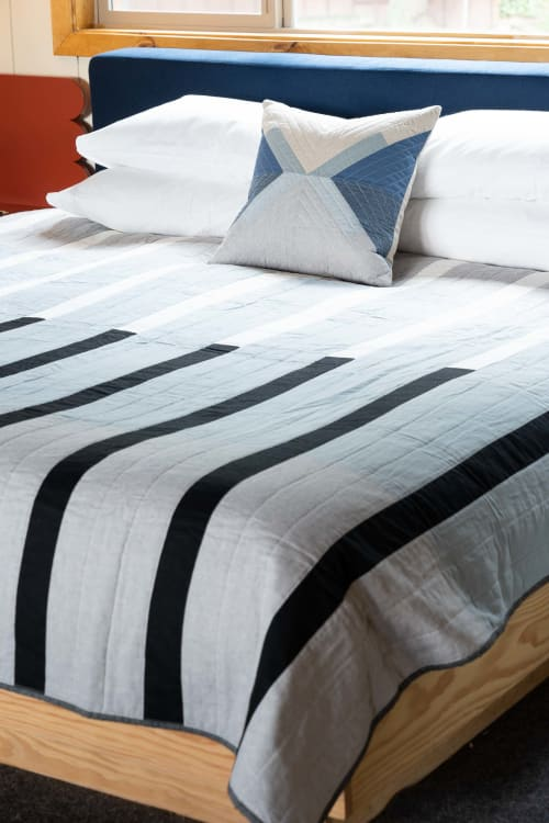 Linens & Bedding by Vacilando Quilting Co. seen at Captain Whidbey, Coupeville - Rialto Quilt
