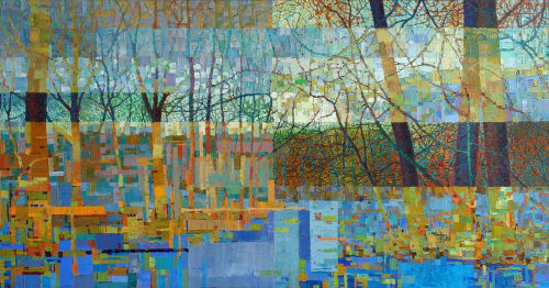 Paintings by Ned Martin Art seen at Private Residence, New Canaan, New Canaan - Harmony