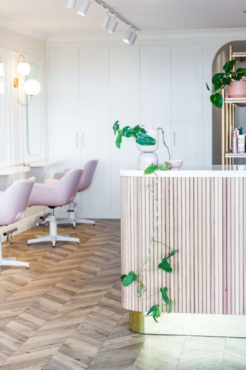 Interior Design by STEWART + HIGHFIELD seen at Glow Beauty Space, Wamberal - Glow Beauty Space