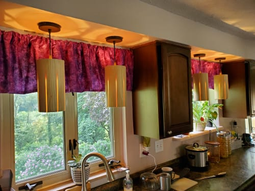 Pendants by Strake Studio seen at Private Residence, Pittsburgh - Latimore