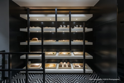 Breadily Baked, Bakeries, Interior Design