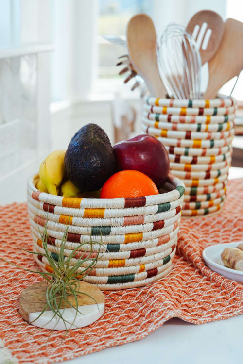 Art & Wall Decor by Zuahaza by Tatiana - Guacamaya Small Fique Woven Basket
