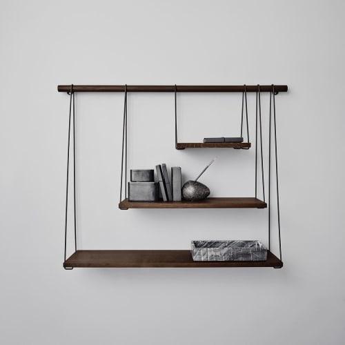 Furniture by Outofstock seen at Private Residence, Lillestrøm - Bridge Shelves