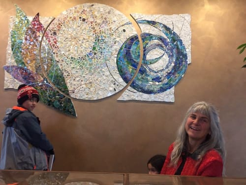 Art & Wall Decor by Cynthia Fisher seen at First Parish Unitarian Universalist, Arlington - Collective Sanctuary, Piece by Piece