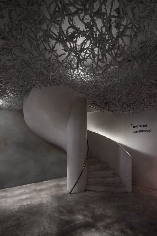 Interior Design by YOD Design Lab seen at Taino Restaurant, Punta Cana - TAINO | gastronomic restaurant