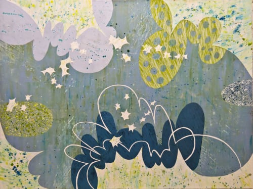 Paintings by Beverly Kedzior Fine Art seen at Creator's Studio, Chicago - Jetson Jazz