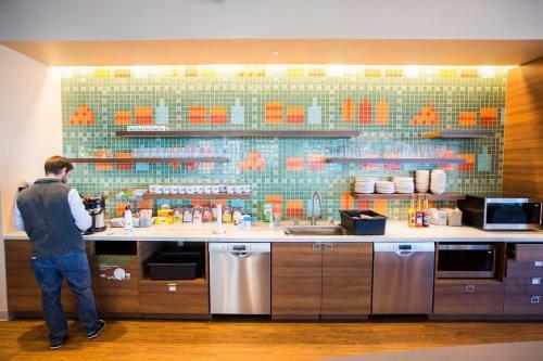 Wall Treatments by Shinji Murakami seen at Salesforce, San Francisco - Fast Food